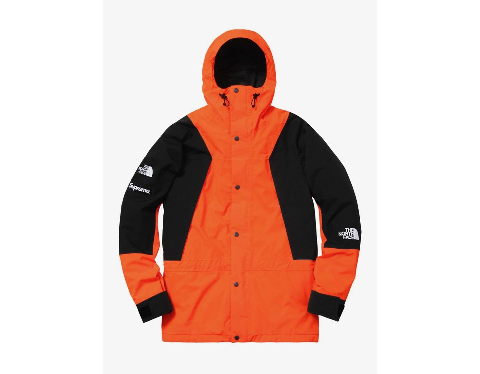 a9d51f5e Supreme The North Face Mountain Light Jacket Orange in Orange for Men - Lyst
