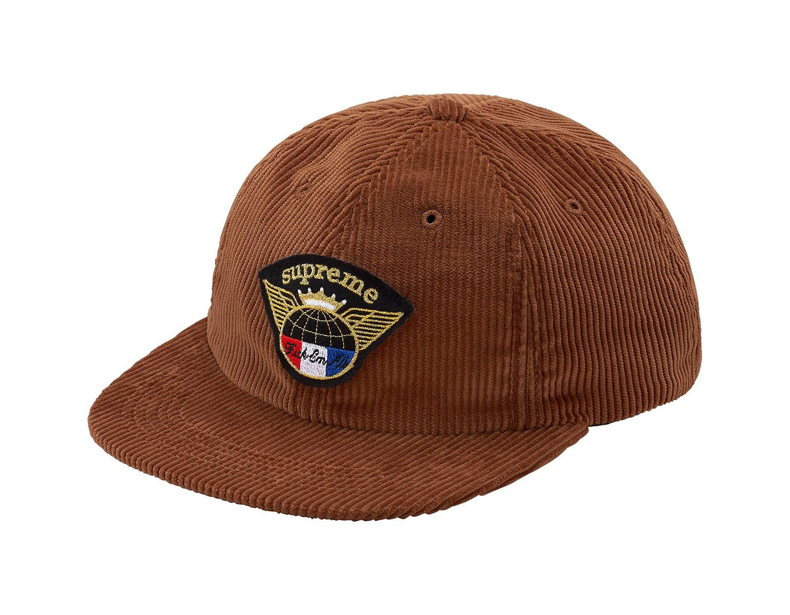 a7d93112 Supreme Global Corduroy 6-panel Brown in Brown for Men - Lyst