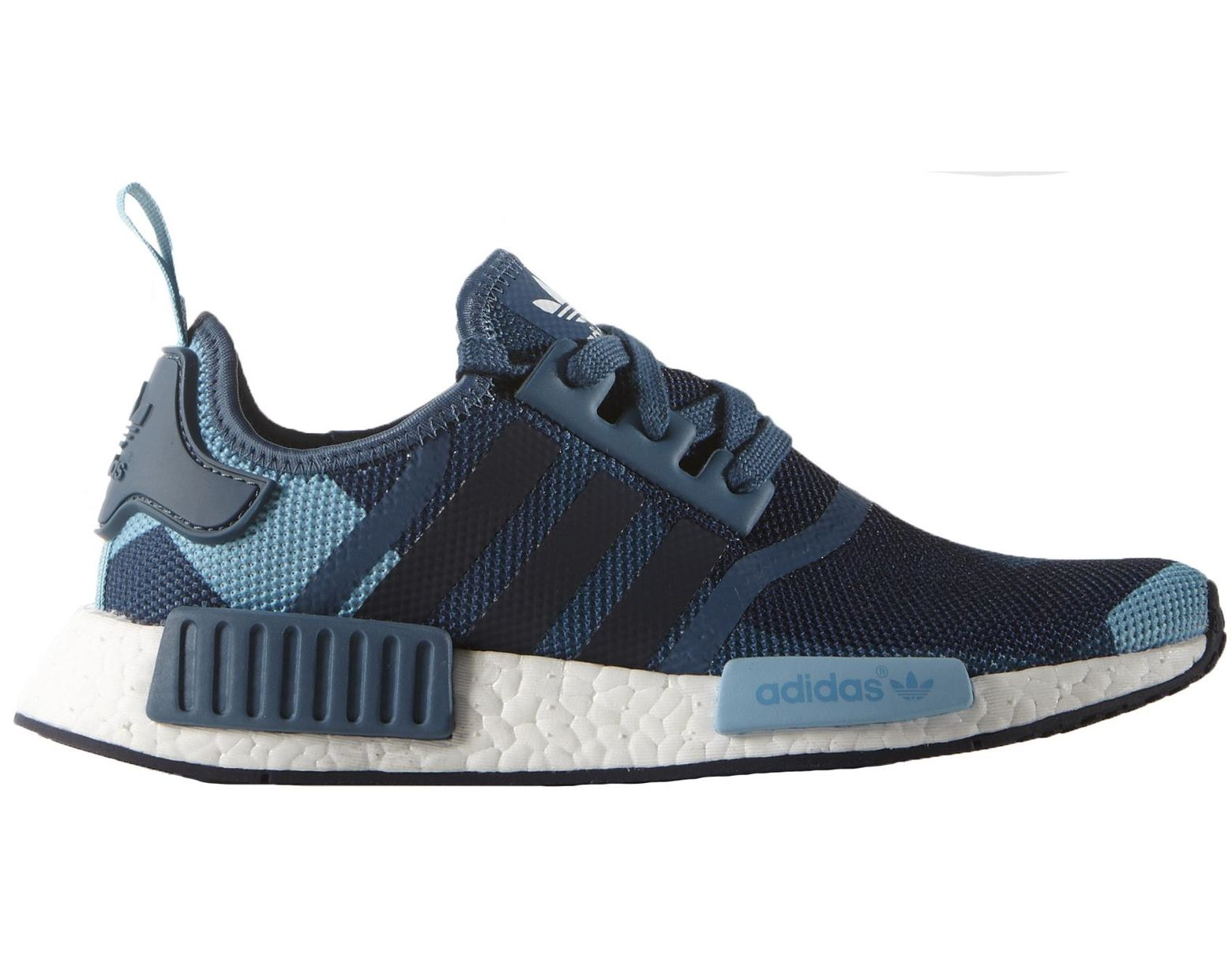 new product 78b37 11852 Women's Nmd R1 Blanch Blue (w)