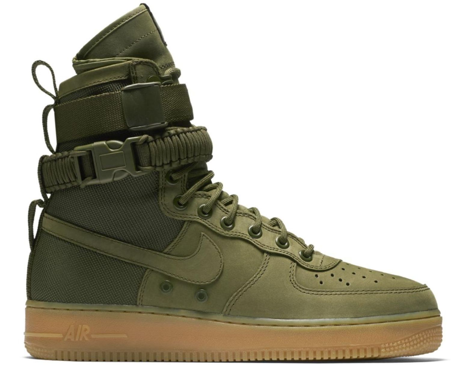 Men's Green Sf Air Force 1 Faded Olive