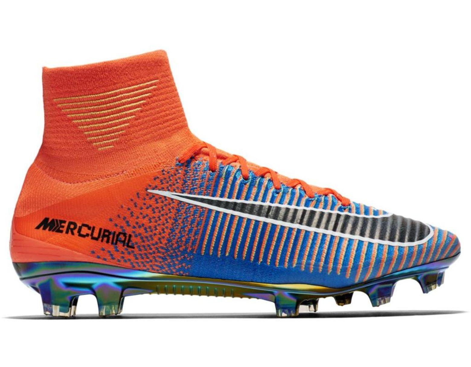 sports shoes fb3a3 0dd3f Men's Blue Superfly Mercurial Ea Sports