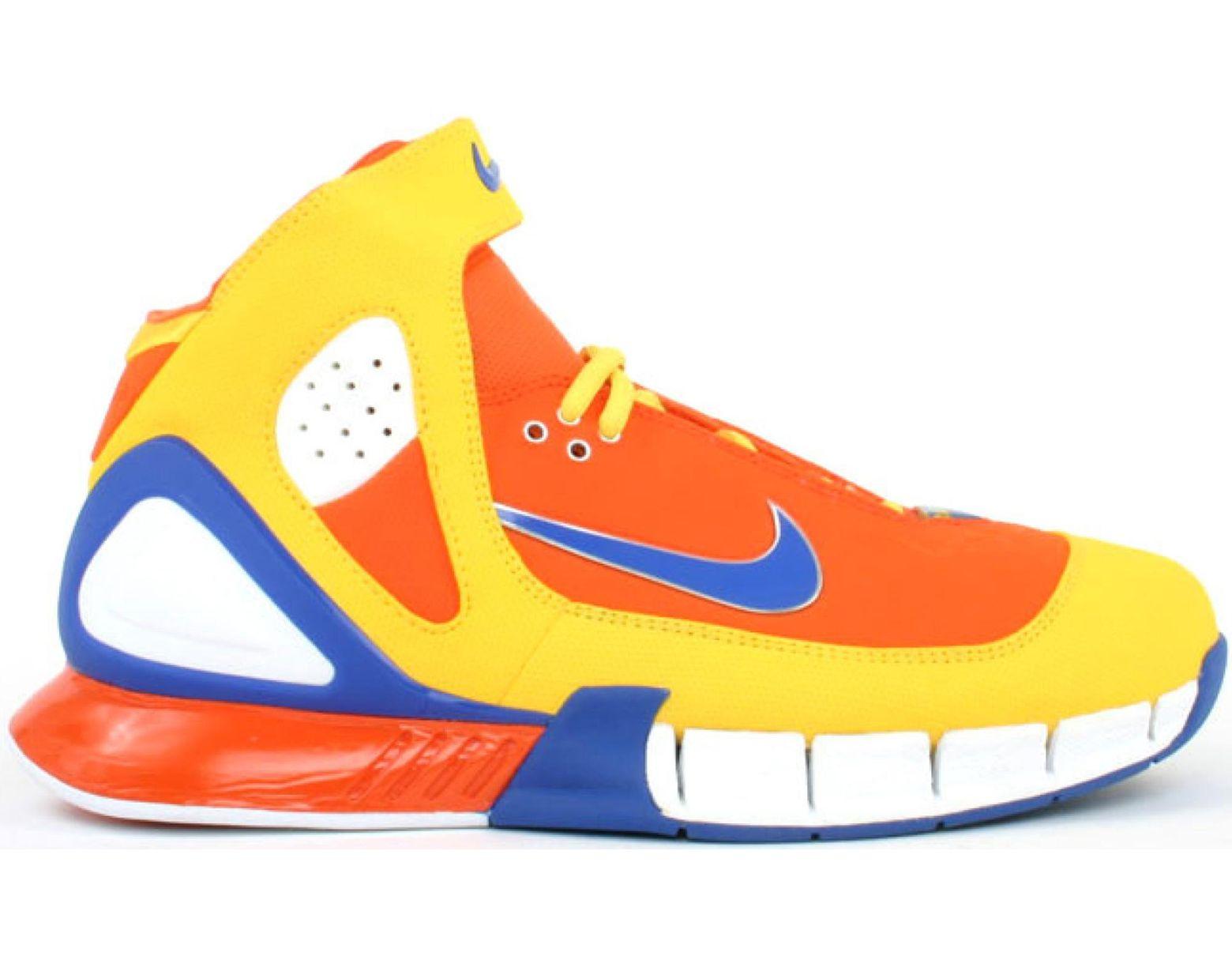 new design new list available Men's Orange Air Zoom Huarache 2k5 Cowboy (sole Collector)