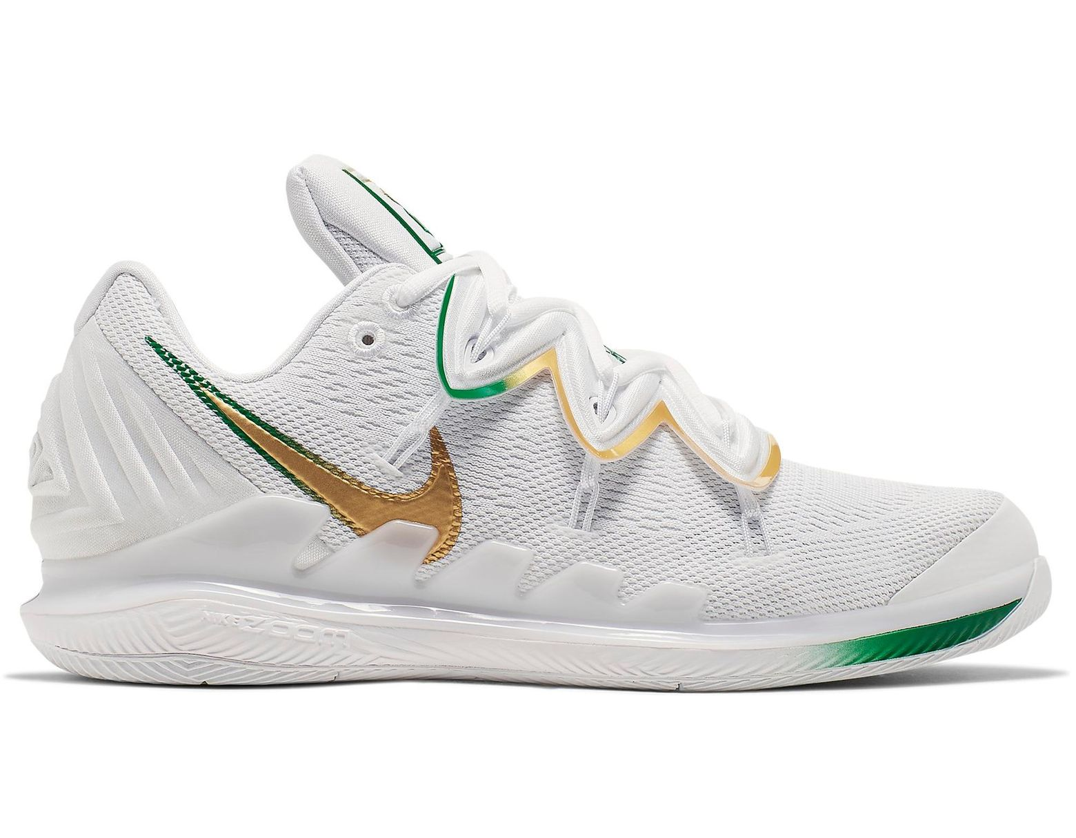 uk availability c5fd6 bea09 Men's Metallic Air Zoom Vapor X Kyrie Clover