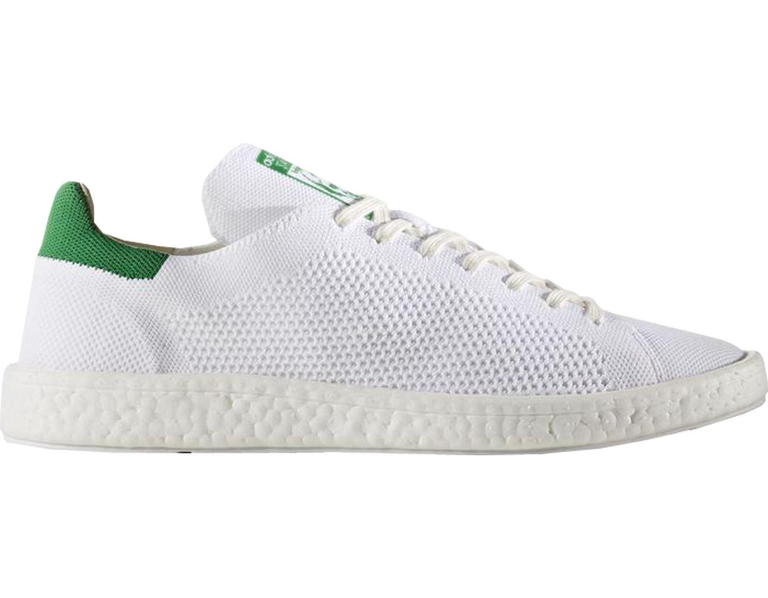 Men's Stan Smith Boost Primeknit White Green