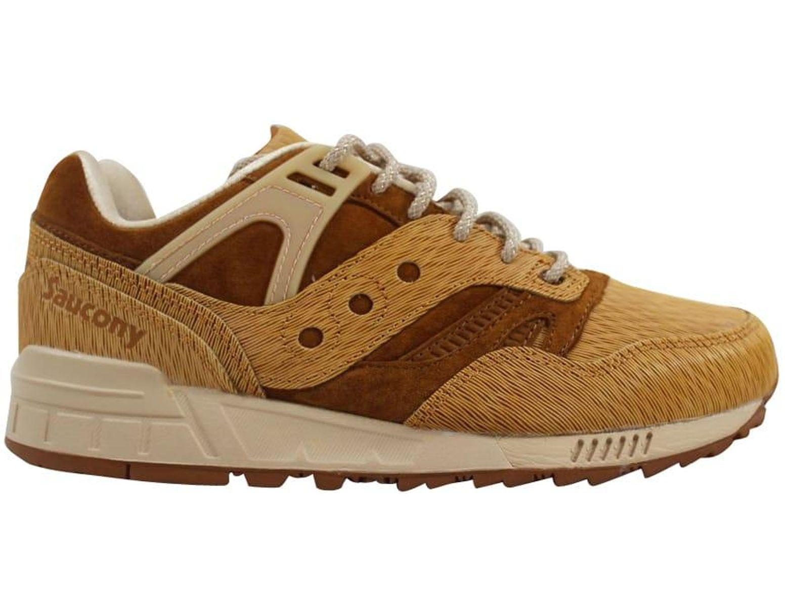 Saucony Mens Footwear Grid SD Quilted CharcoalTan