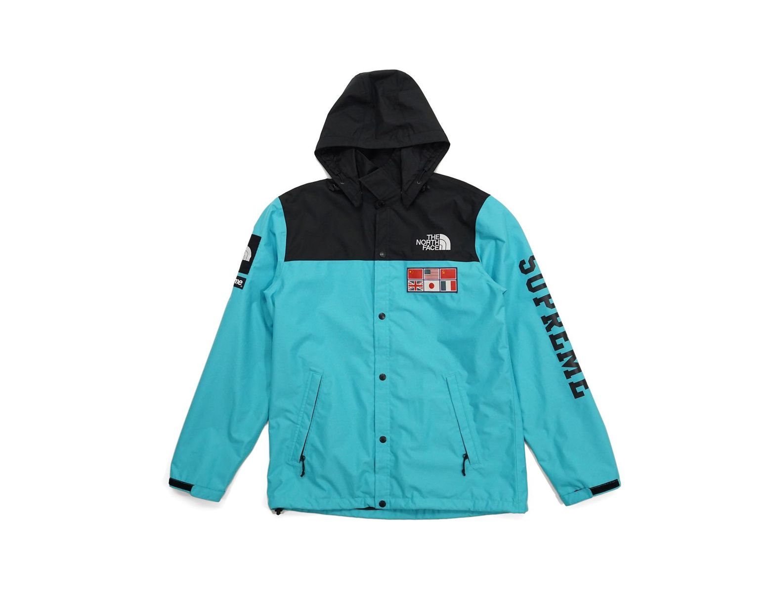 28cfcd0d Supreme The North Face Expedition Coaches Jacket Teal in Blue for Men - Lyst