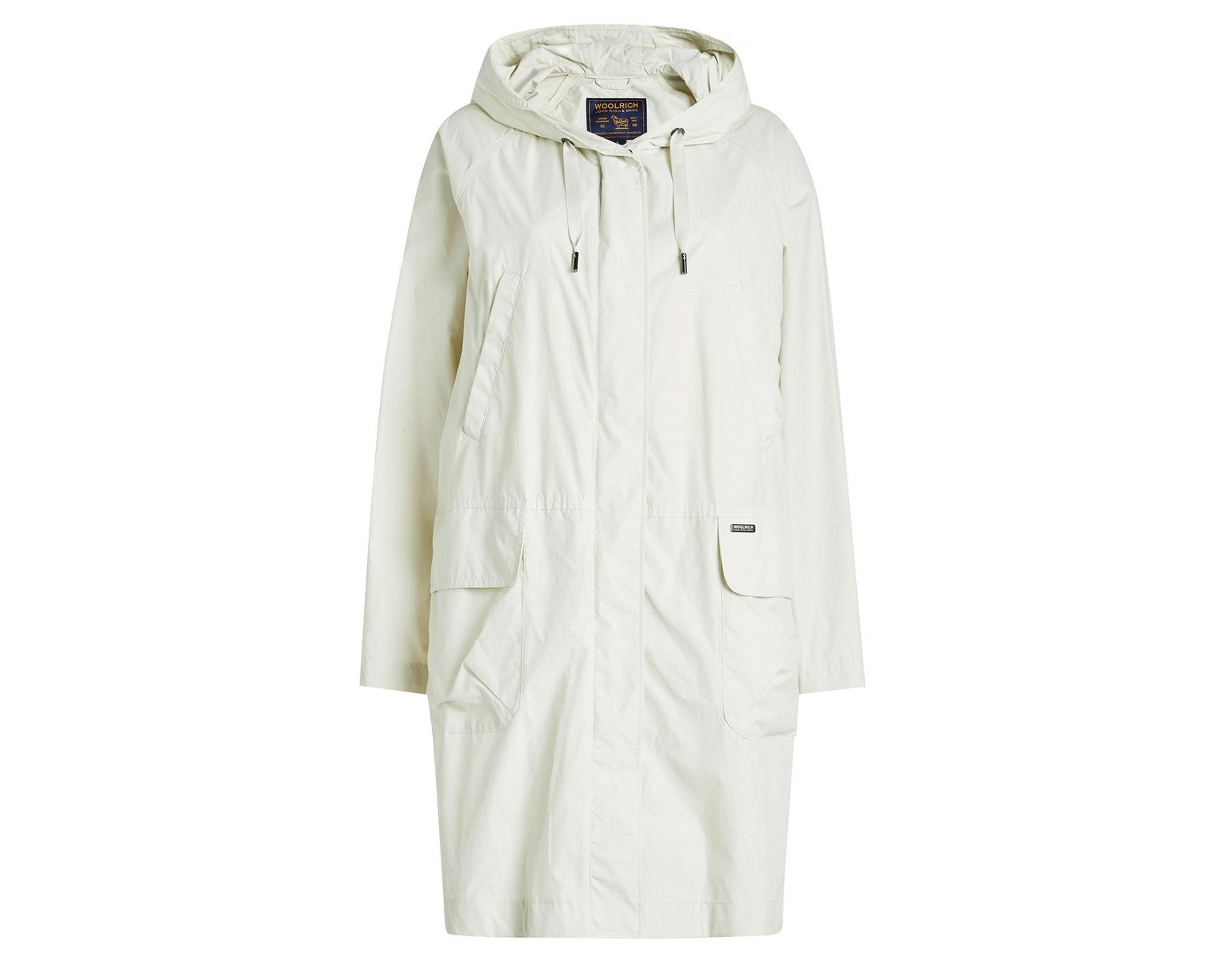 100ef993c Woolrich Atlantic Parka With Cotton in White - Lyst