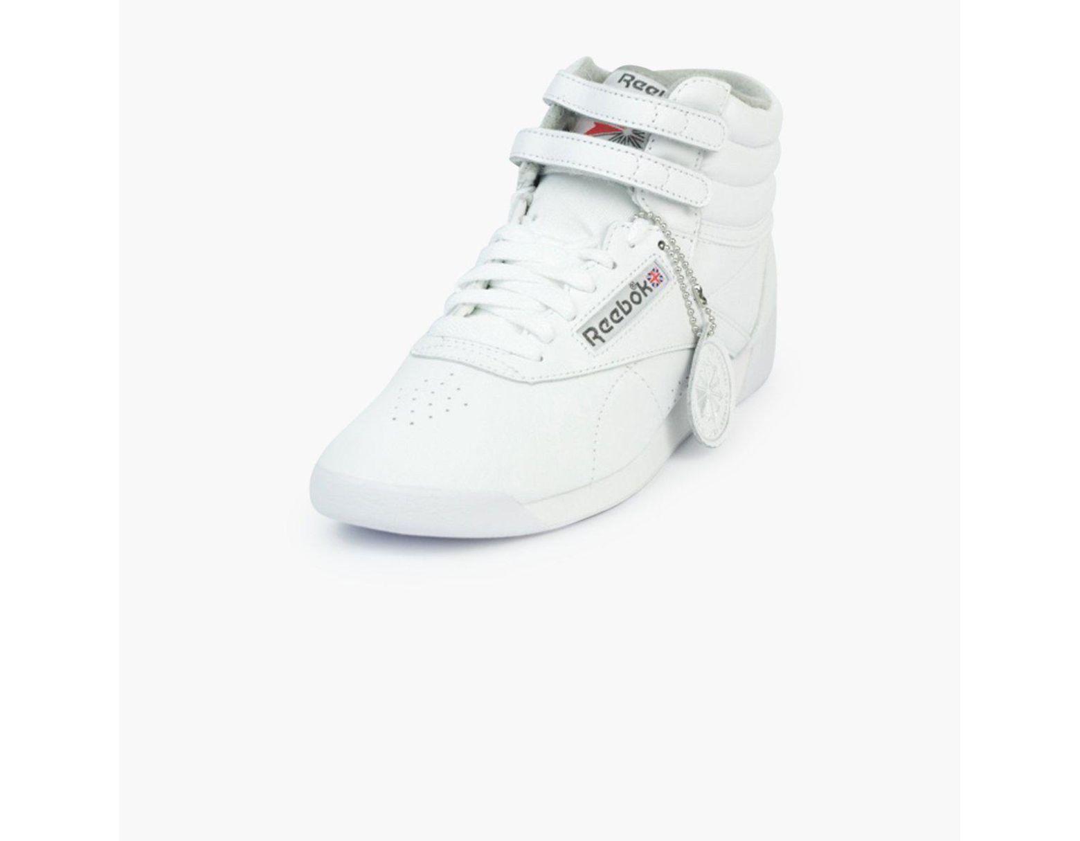 b7000f98 Reebok Freestyle Hi Archive Women's in White - Lyst