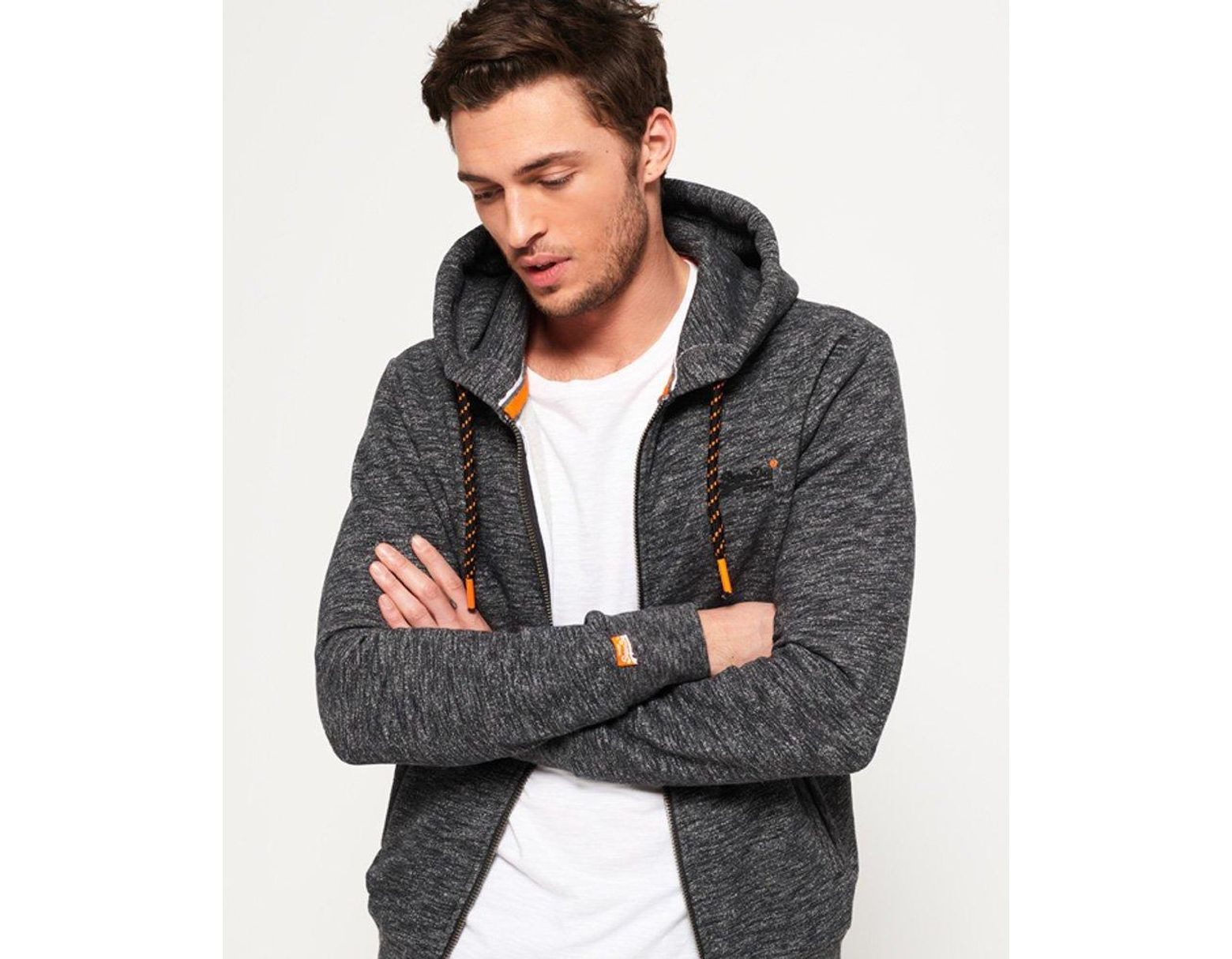 new product 8856b c92f2 Herren Superdry Herren Orange Label Hyper Pop Ziphood ...