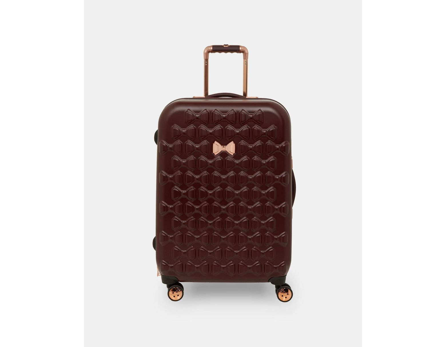 9de8c44e72 Ted Baker Bow Detail Medium Suitcase - Lyst