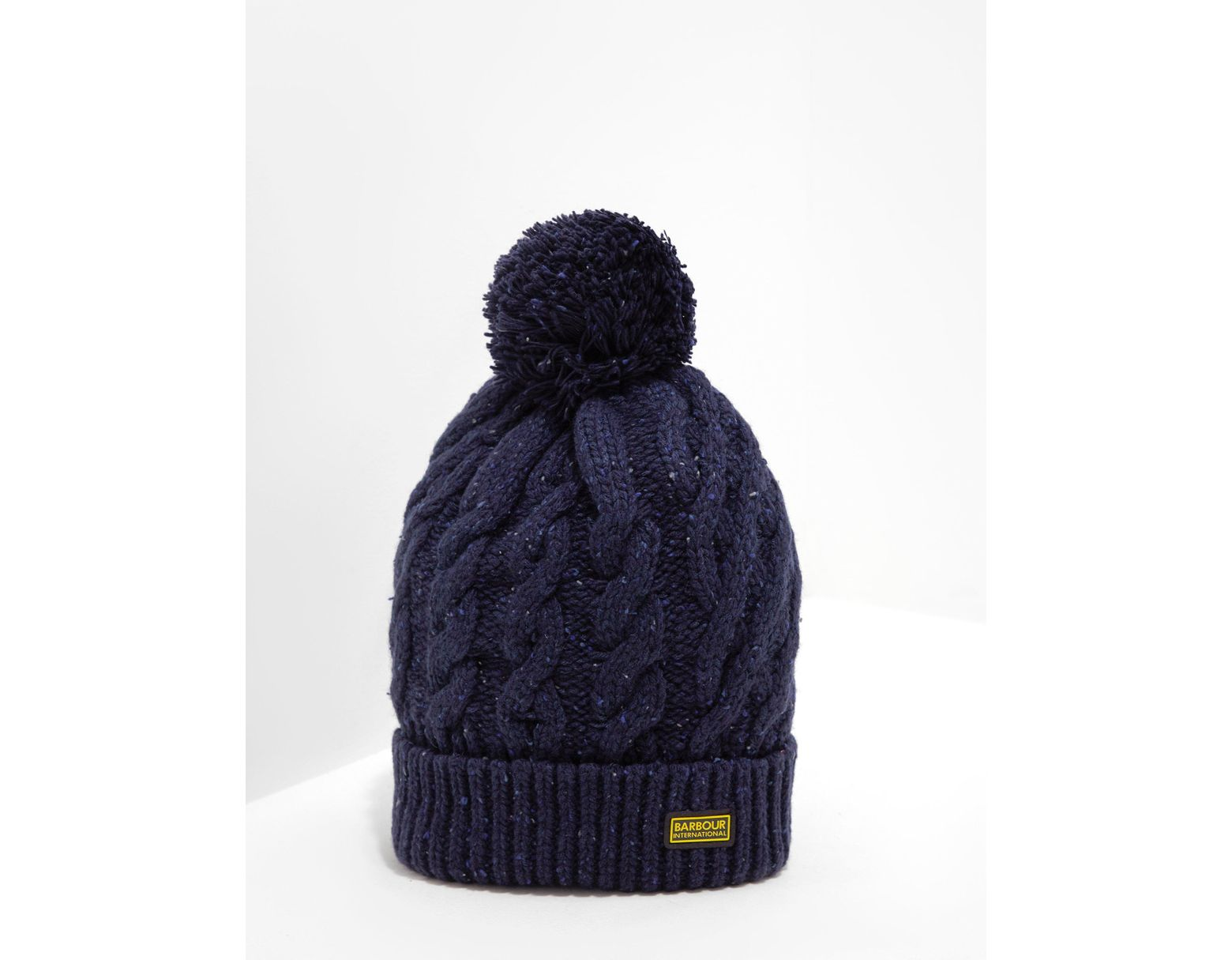 09a7790c Men's Bobble Hat - Exclusively To Tessuti Navy Blue