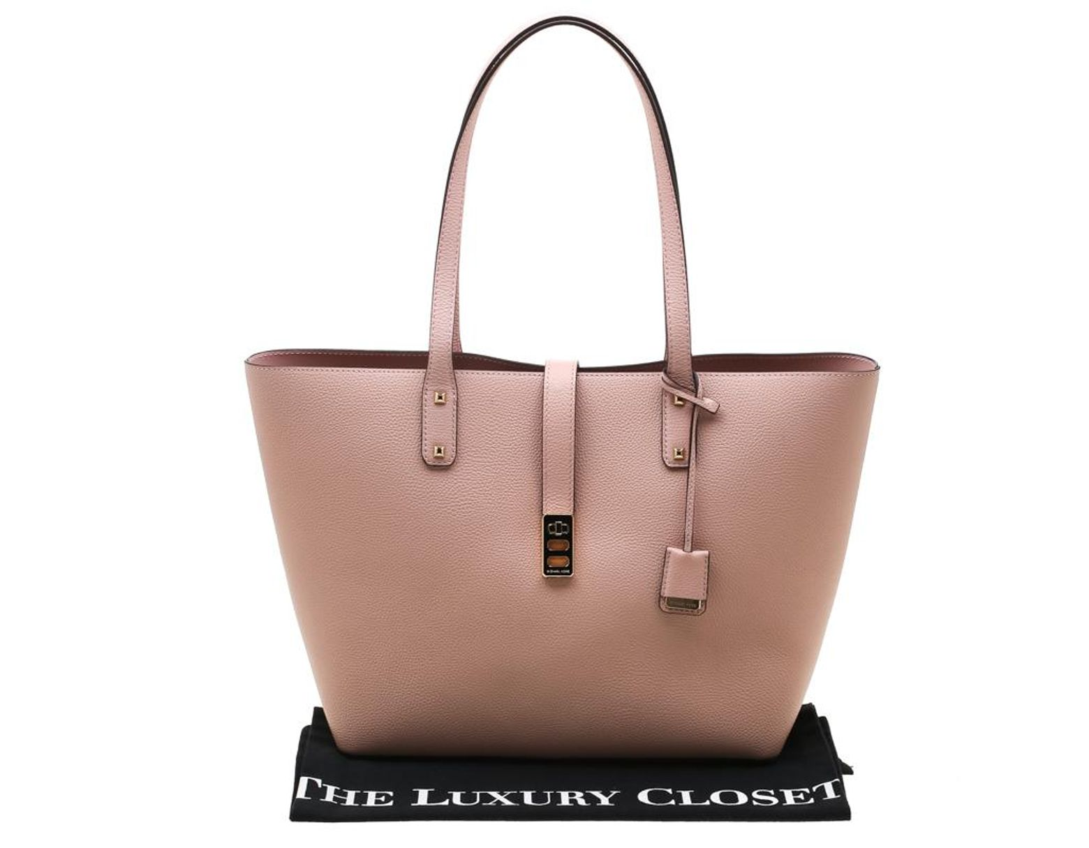 f26189dd7155 Women's Pastel Pink Leather Large Karson Luggage Carryall Tote