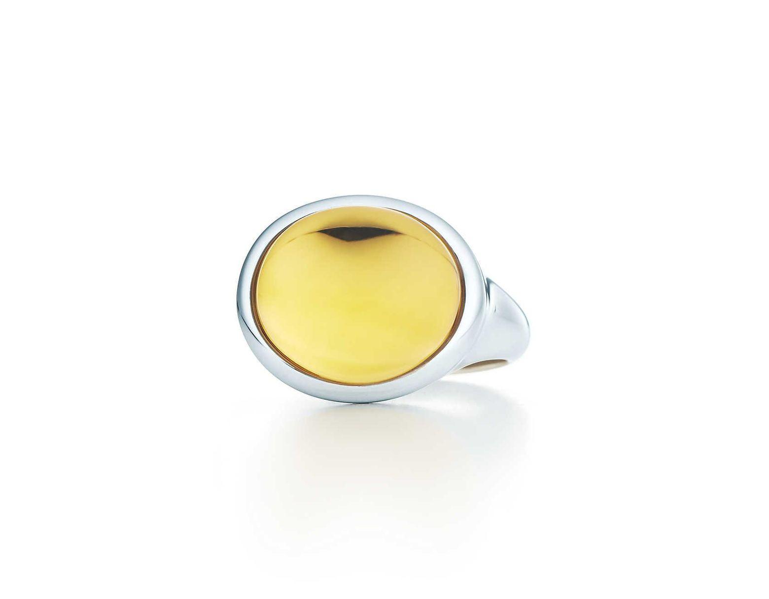 348d623ff Tiffany & Co. Cabochon Ring in Metallic - Lyst