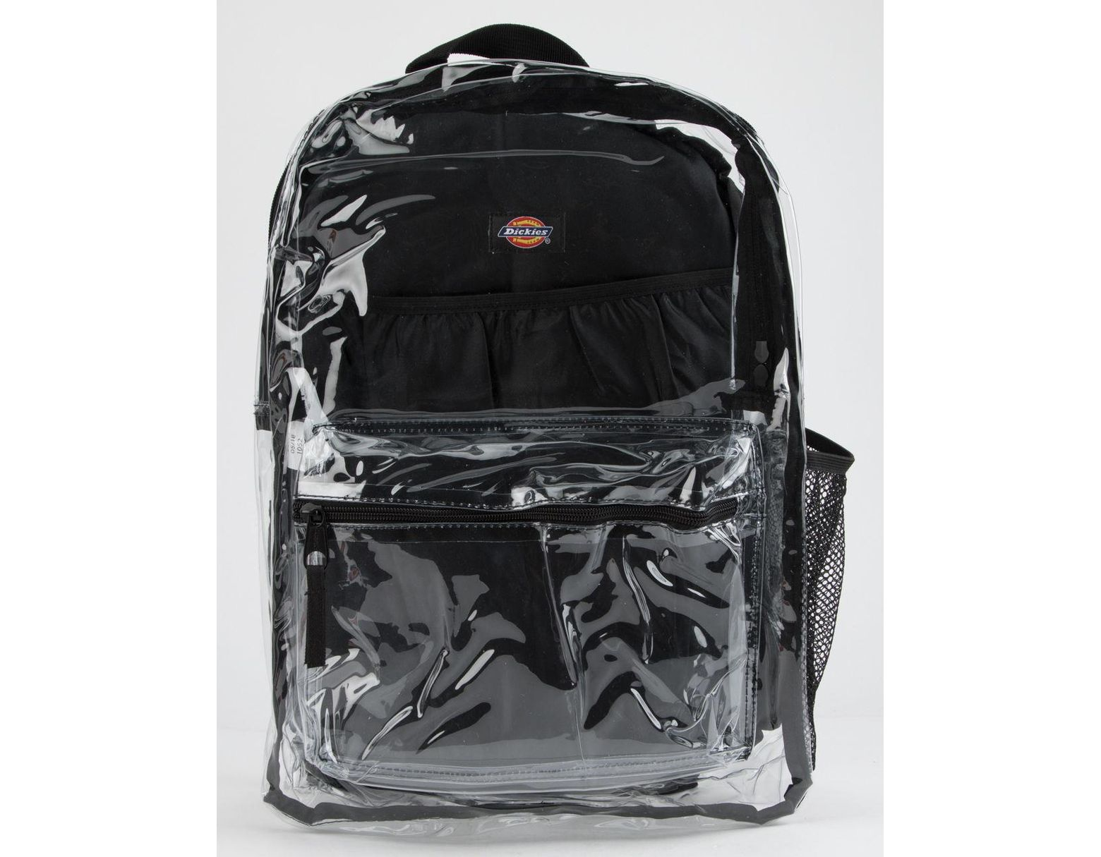 5d3b3b478e1 Men's Clear Pvc Black Backpack