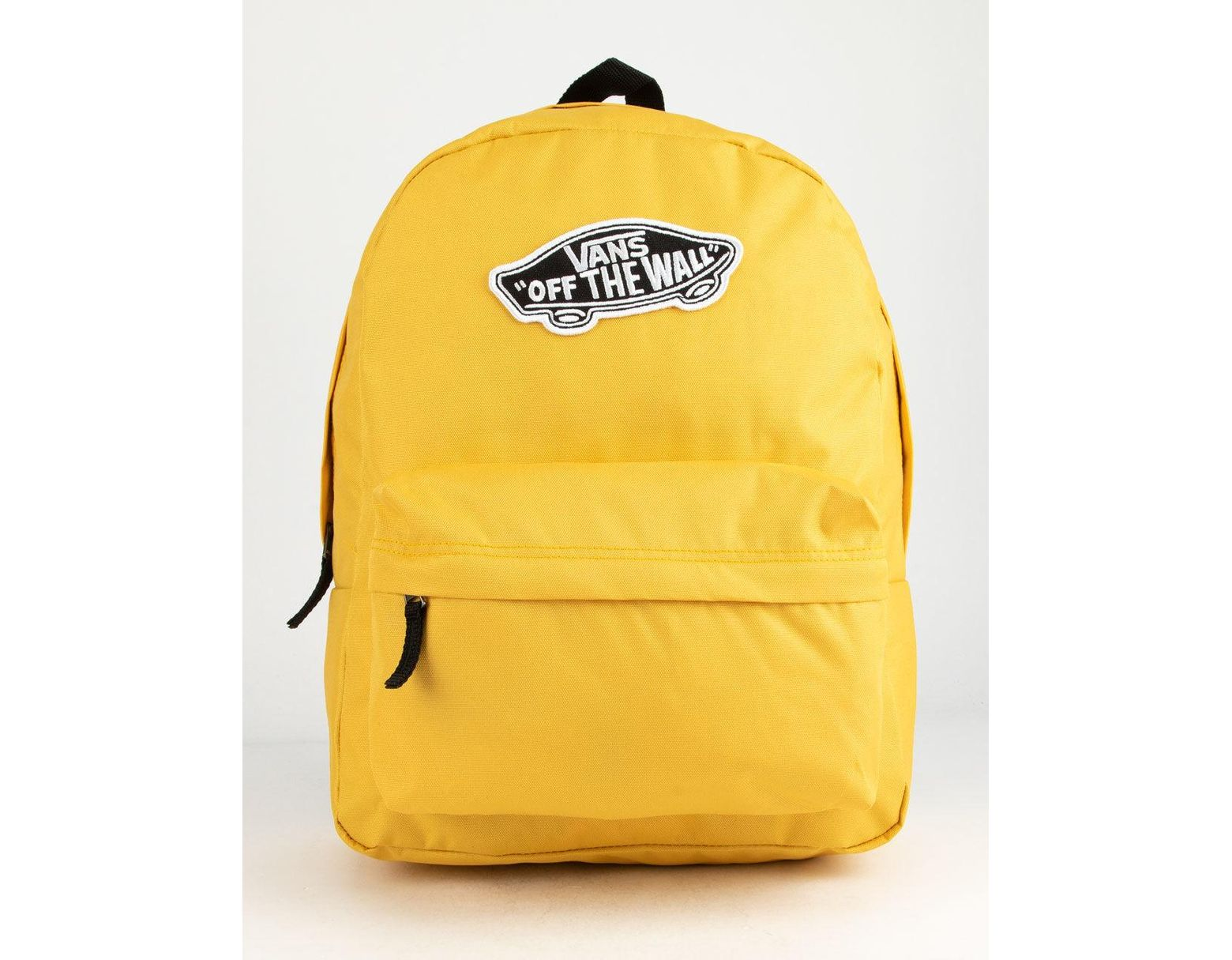 55e4b35e71d Vans Realm Classic Yolk Yellow Backpack in Yellow - Lyst