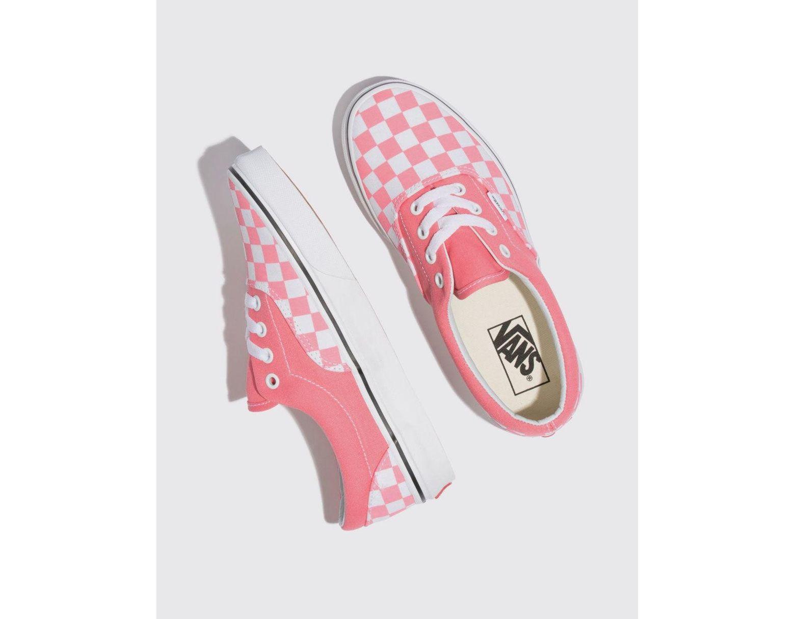 5a7a5f8a5c686 Vans Era (checkerboard) Strawberry - Save 33% - Lyst