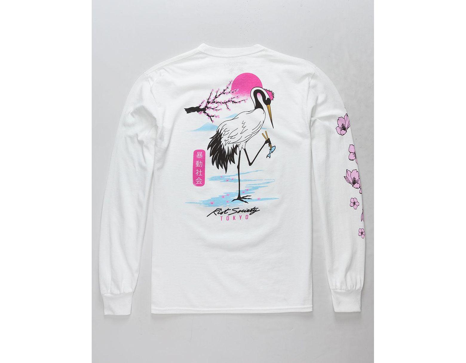 982a1ab8ec White So Crane Cray Mens T-shirt