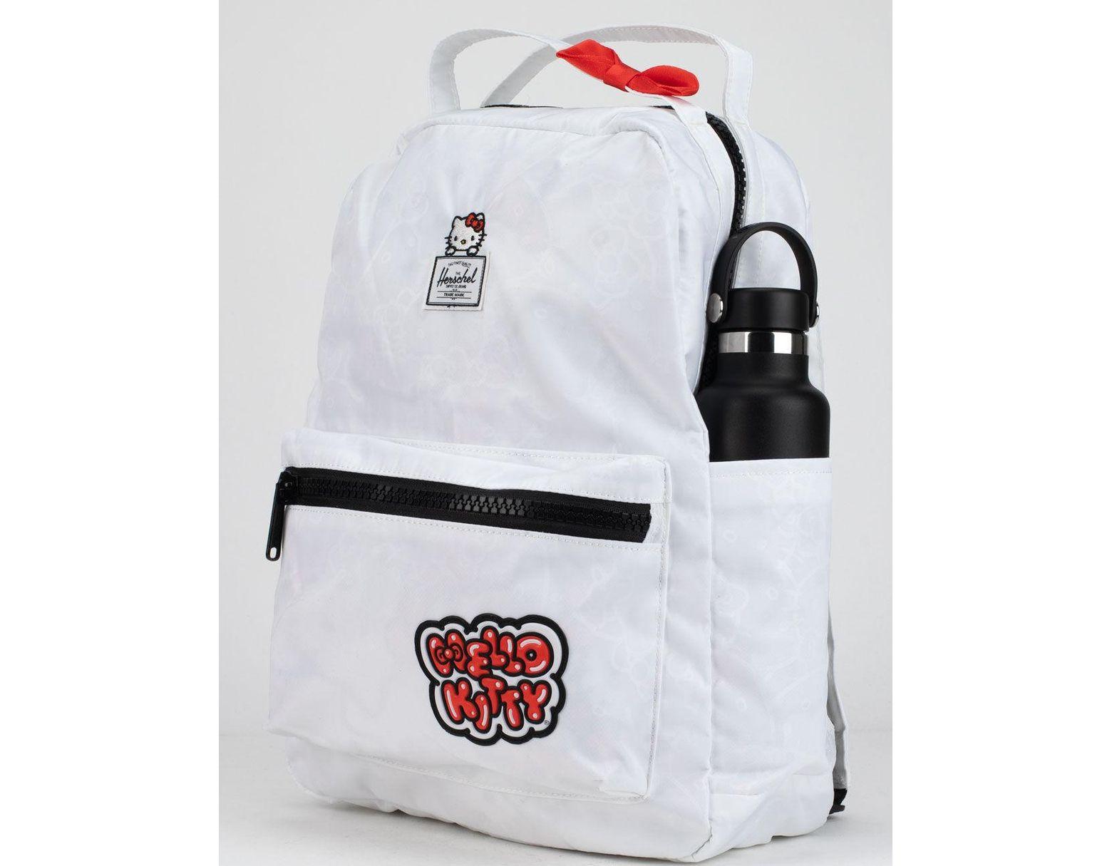 2fa2e65fc Herschel Supply Co. X Hello Kitty White Nova Mid-volume Backpack in White -  Lyst