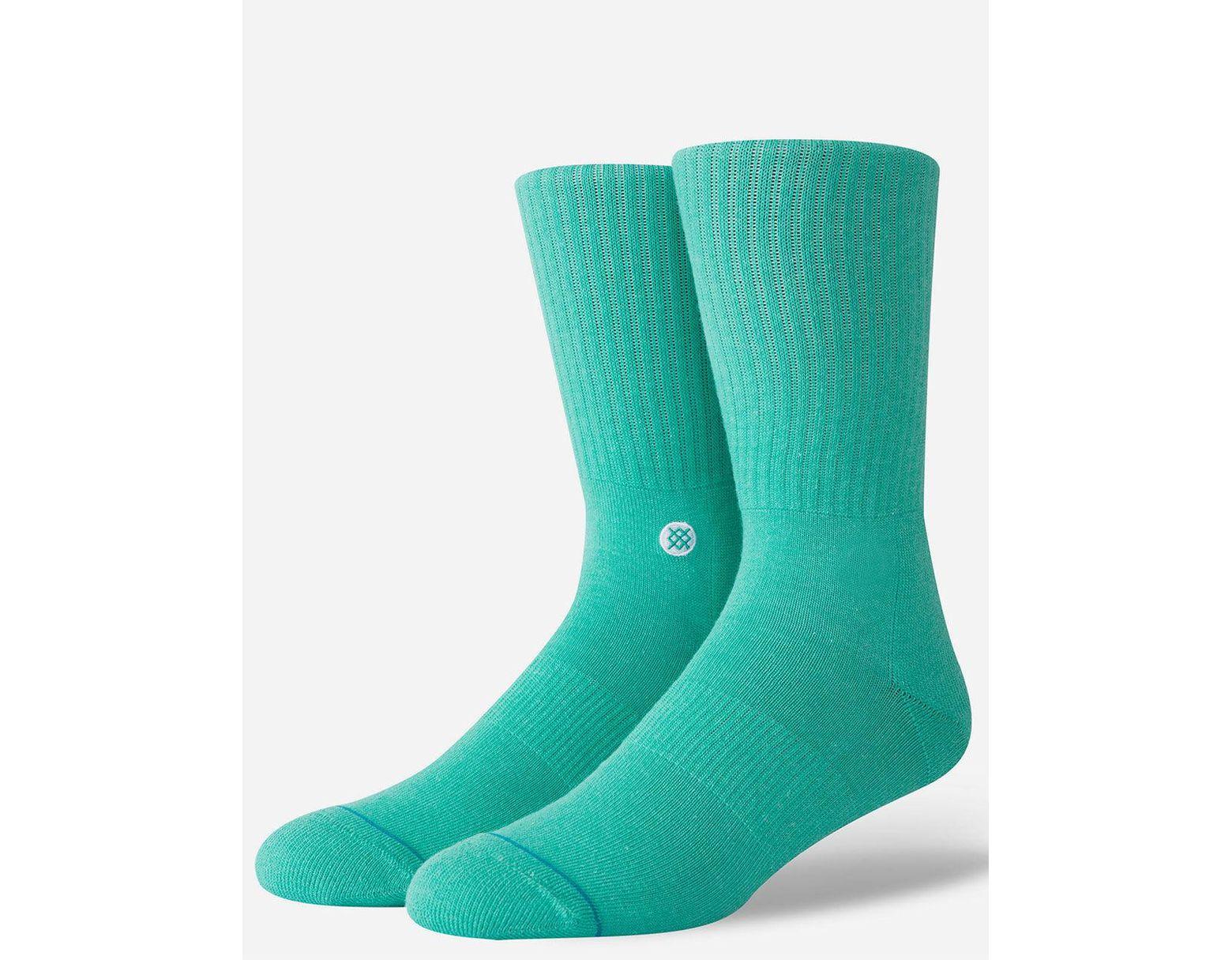 Sea Green Medium Stance Icon Men/'s Socks 6-8.5