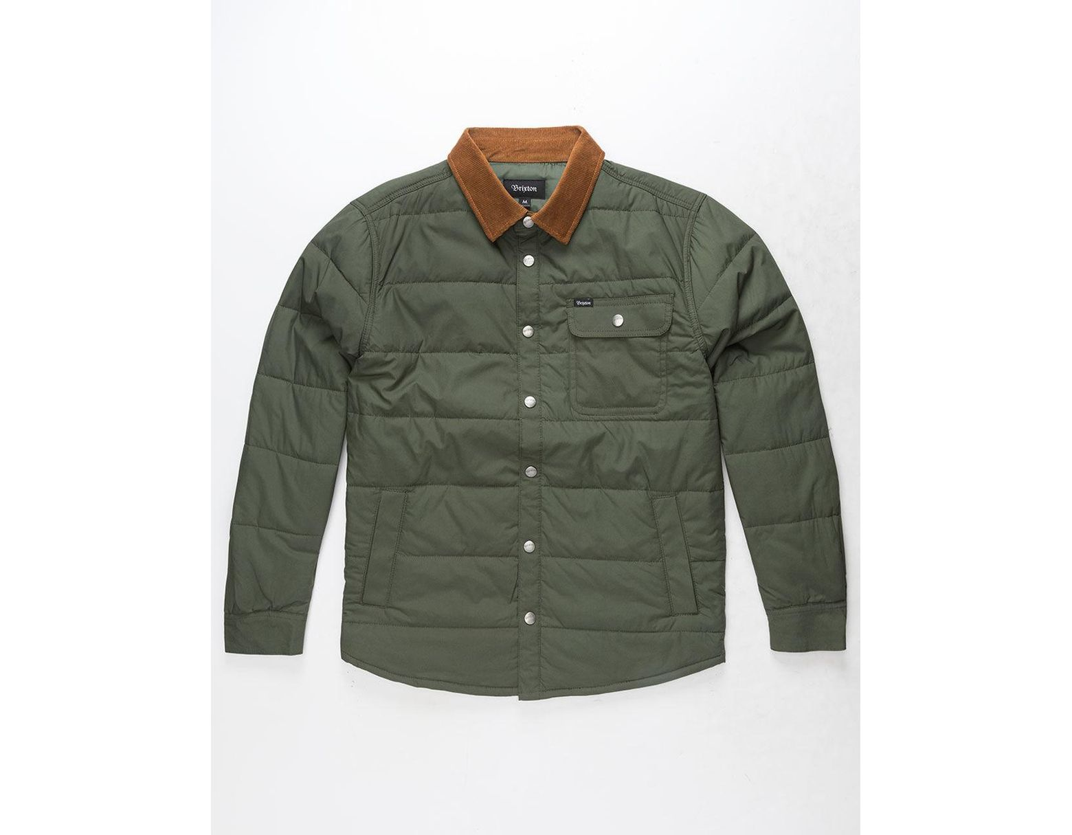 cd0e634d384 Brixton Cass Pine Mens Jacket in Green for Men - Lyst
