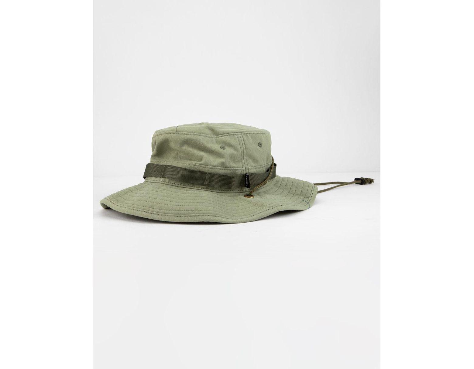 22d8f31fe00b7 Vans Boonie Oil Green Mens Bucket Hat in Green for Men - Lyst