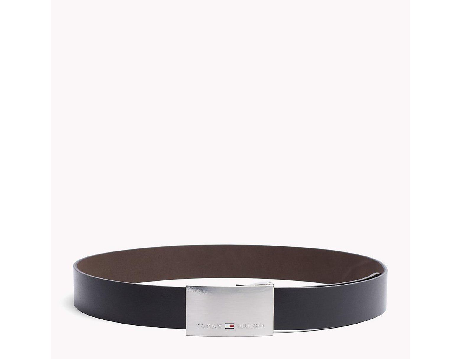 e9c7f1389 Tommy Hilfiger Two Buckle Belt Gift Box in Black for Men - Save 30% - Lyst