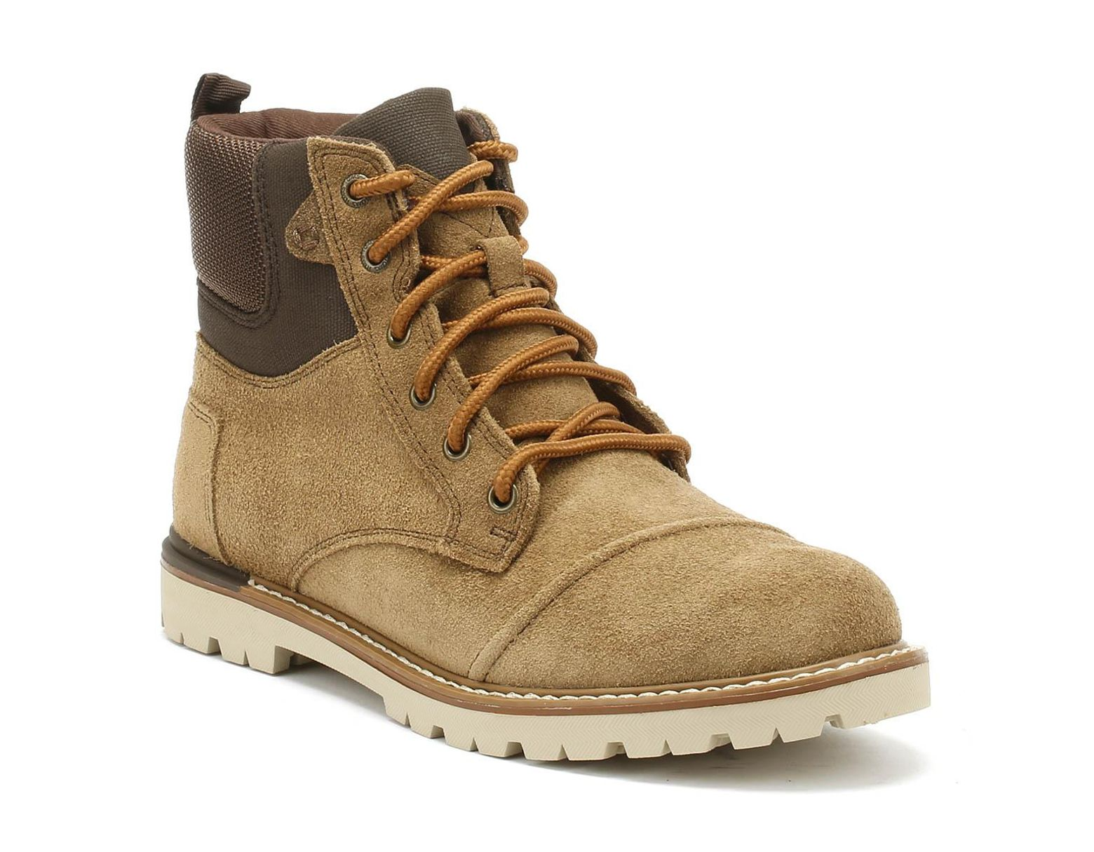 8c33d047856 Ashland Mens Brown Suede Boots