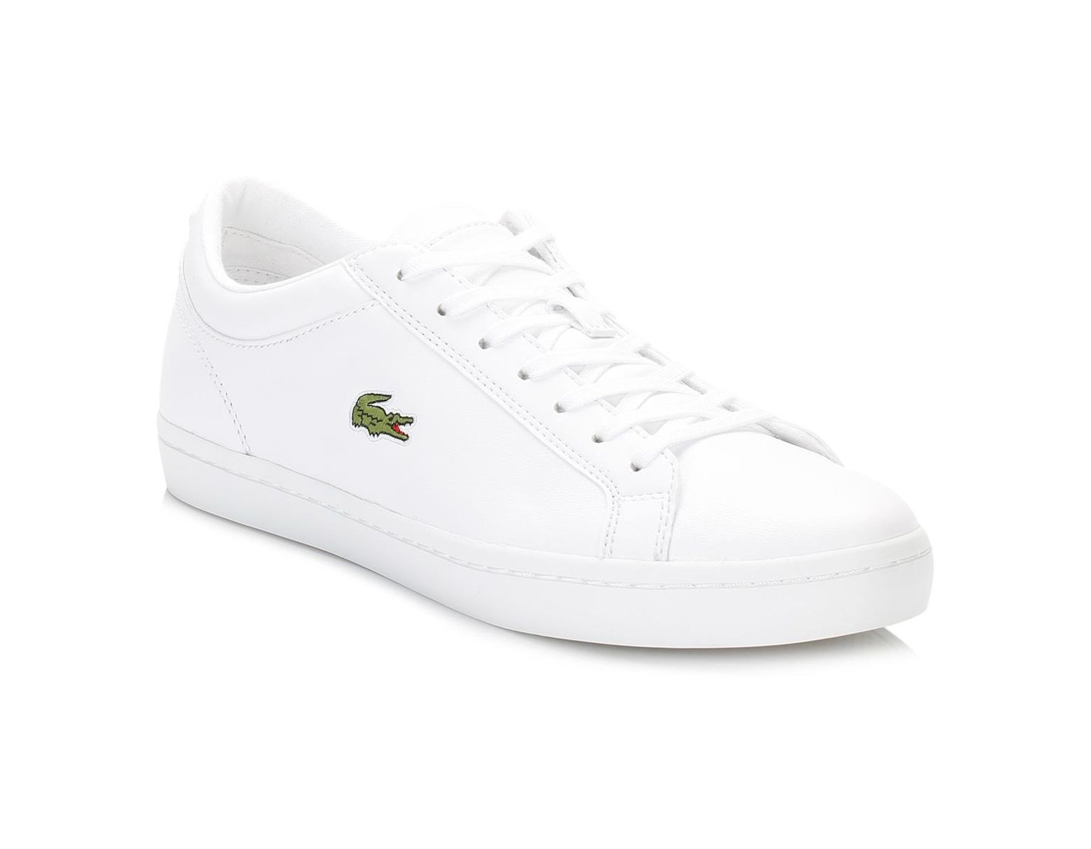 a6e8cab8af Women's Graduate Bl1 Leather Trainers In White