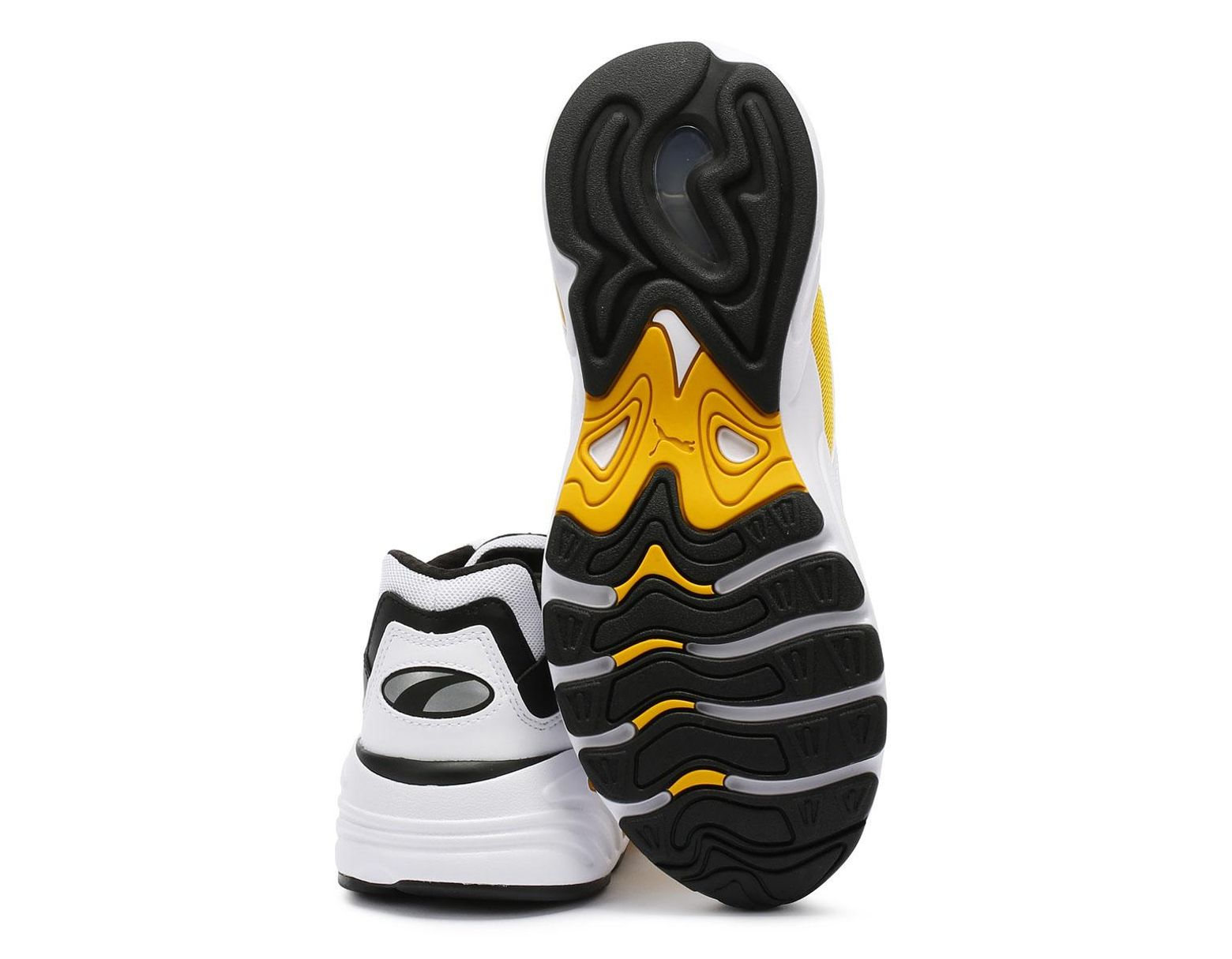bb9adf57a4 PUMA Cell Viper Mens White   Yellow Trainers in White for Men - Lyst