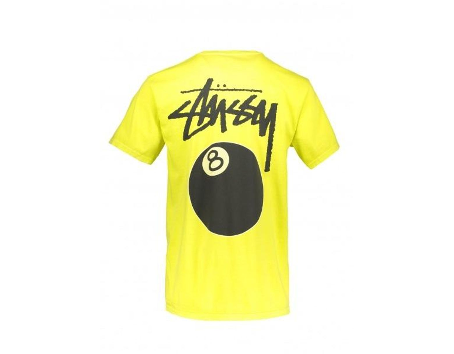 d3ea75766 Men's Yellow 8 Ball Pig Dyed Tee