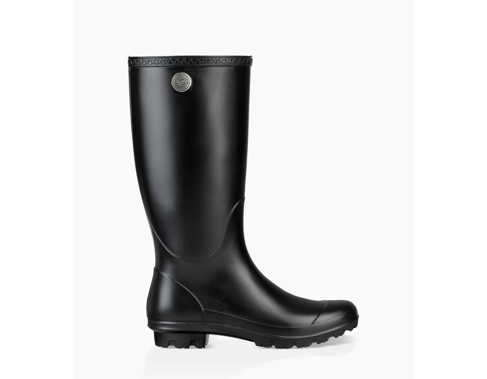 80772825515 Women's Black Shelby Matte Rain Boots