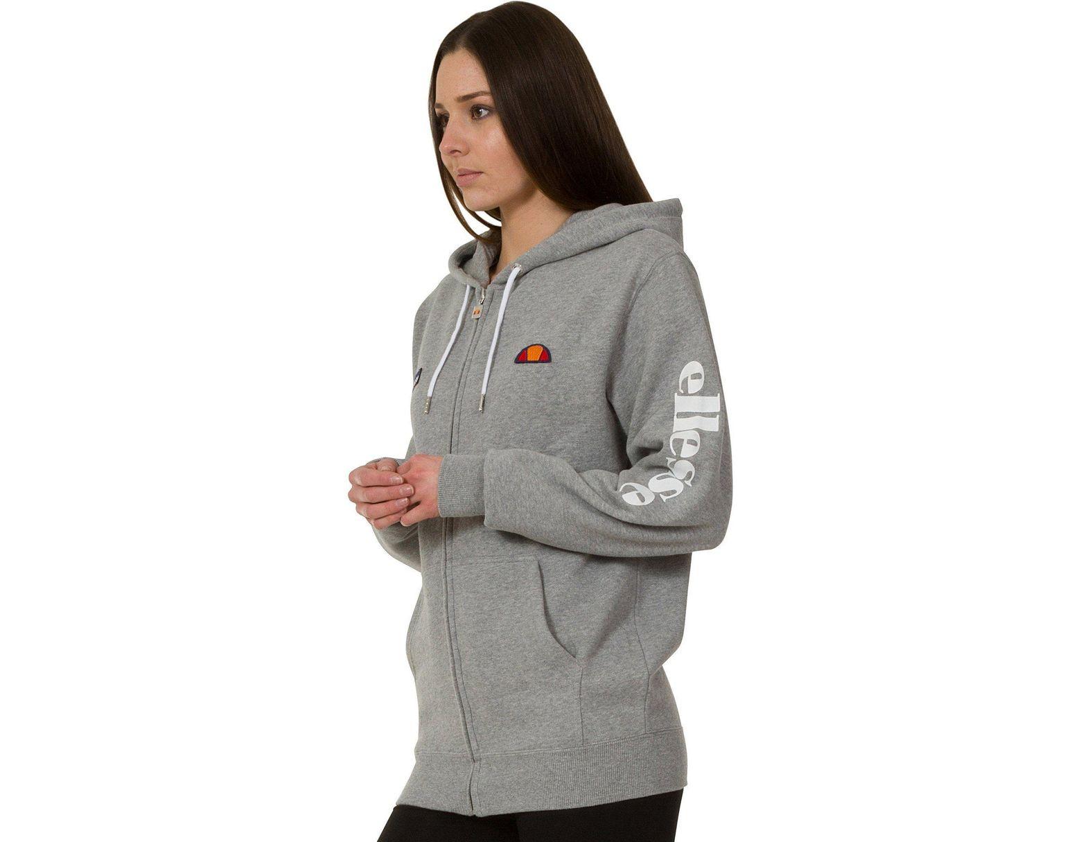826df21e Gray Women's Serinatas Zip Front Sweat Hoodie