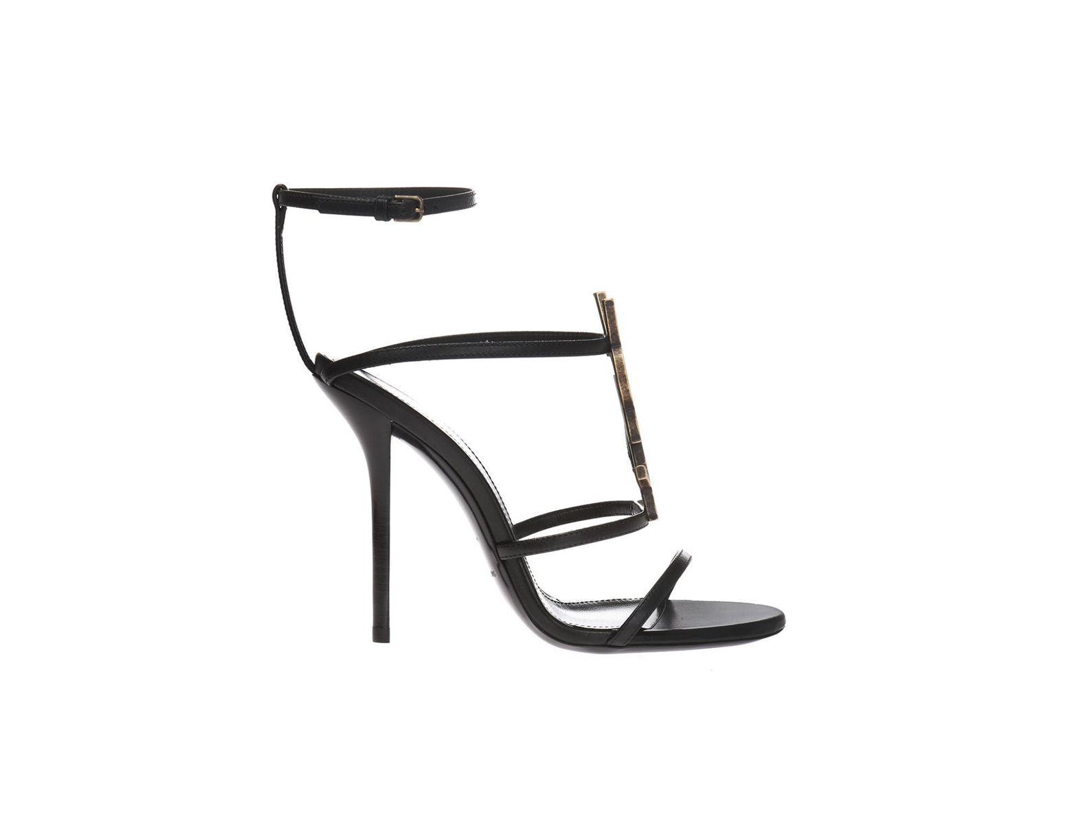 d7cbe66fa1 Women's Black 'cassandra' Stiletto Sandals