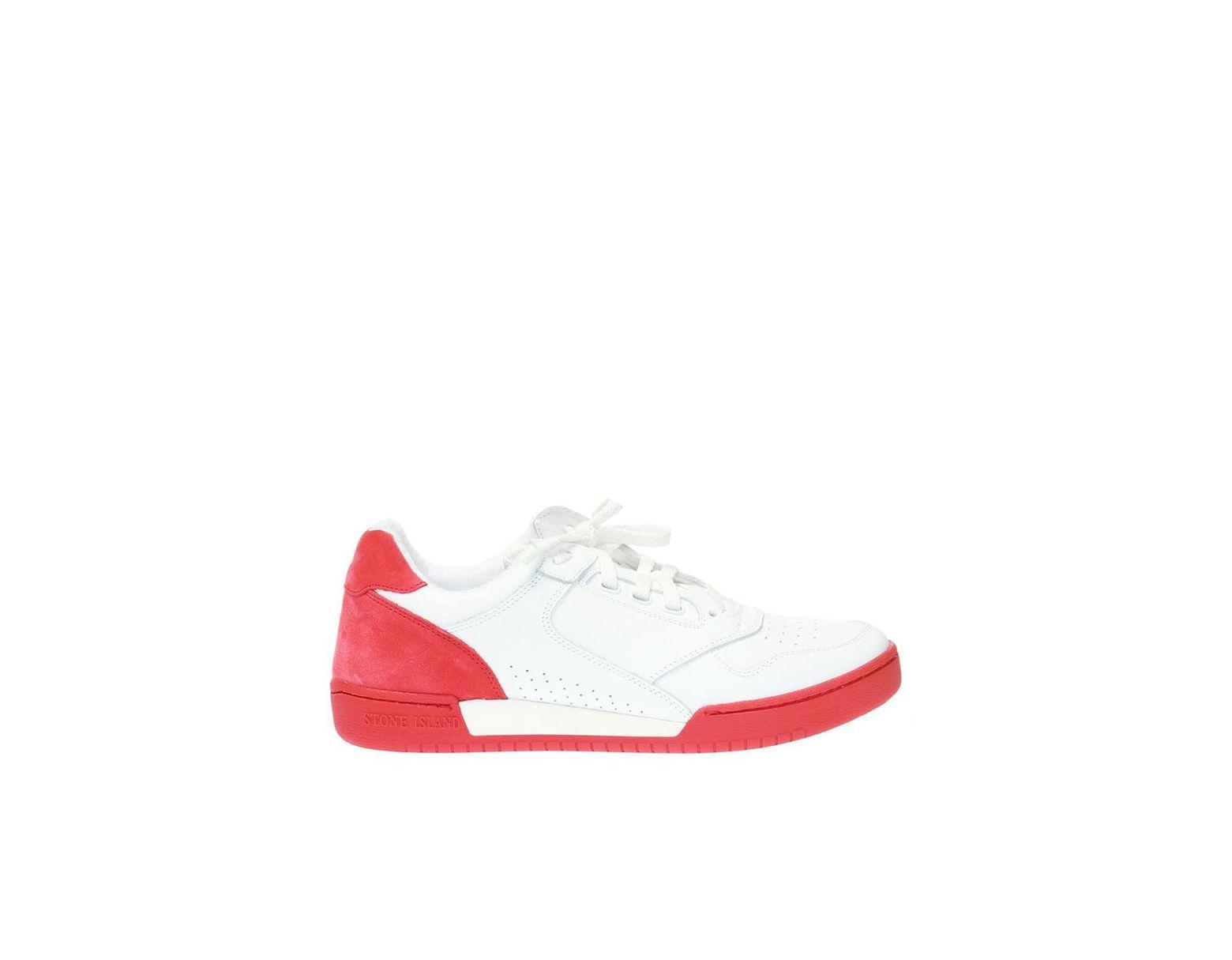 big sale dc0aa 9900d Men's White Lace-up Sneakers