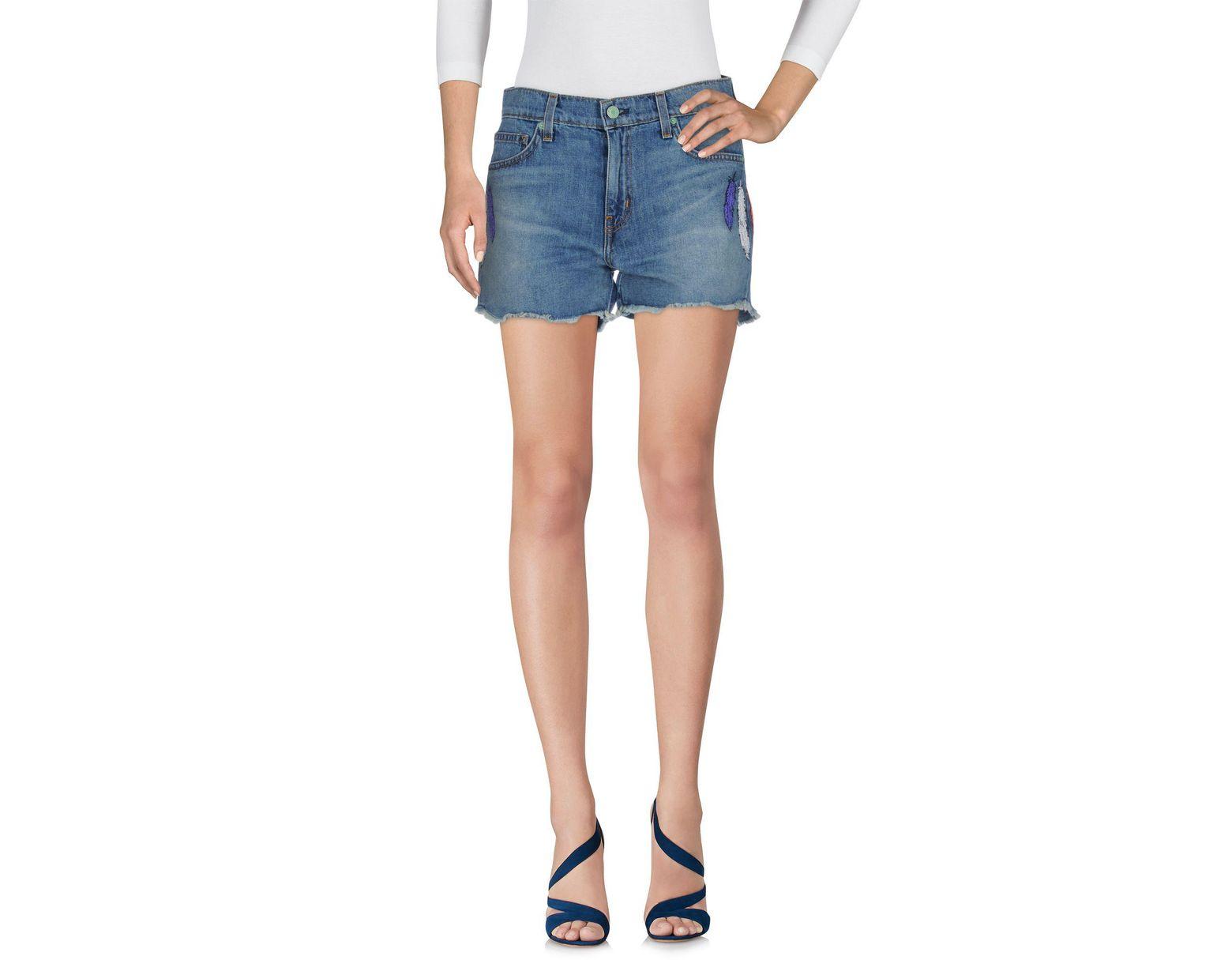 68130d940706 Shorts vaqueros de mujer de color azul