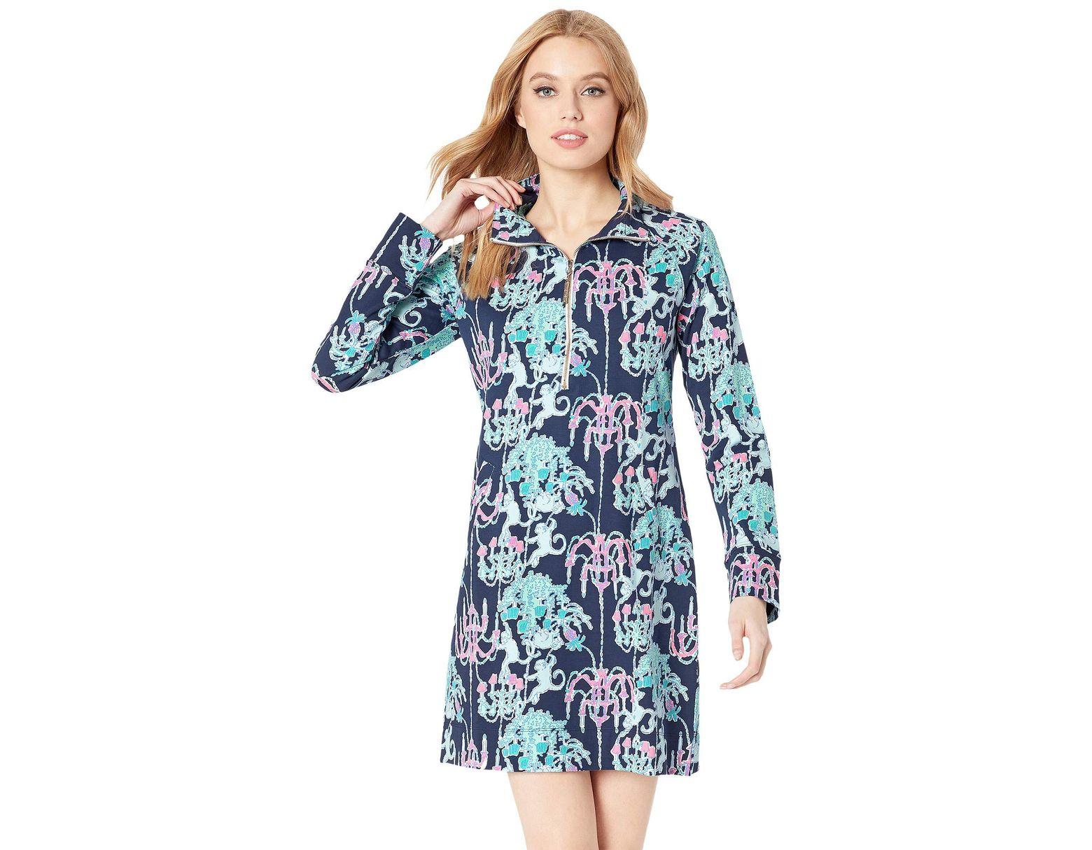 06928a281ab965 Lilly Pulitzer Skipper Dress in Blue - Lyst