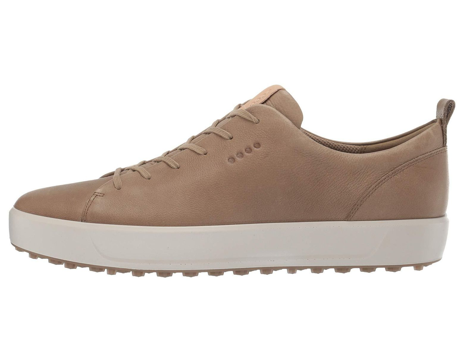 94bc240ef72d3 Ecco Soft Low Hydromax(r) (bright White) Men's Golf Shoes in Brown for Men  - Lyst