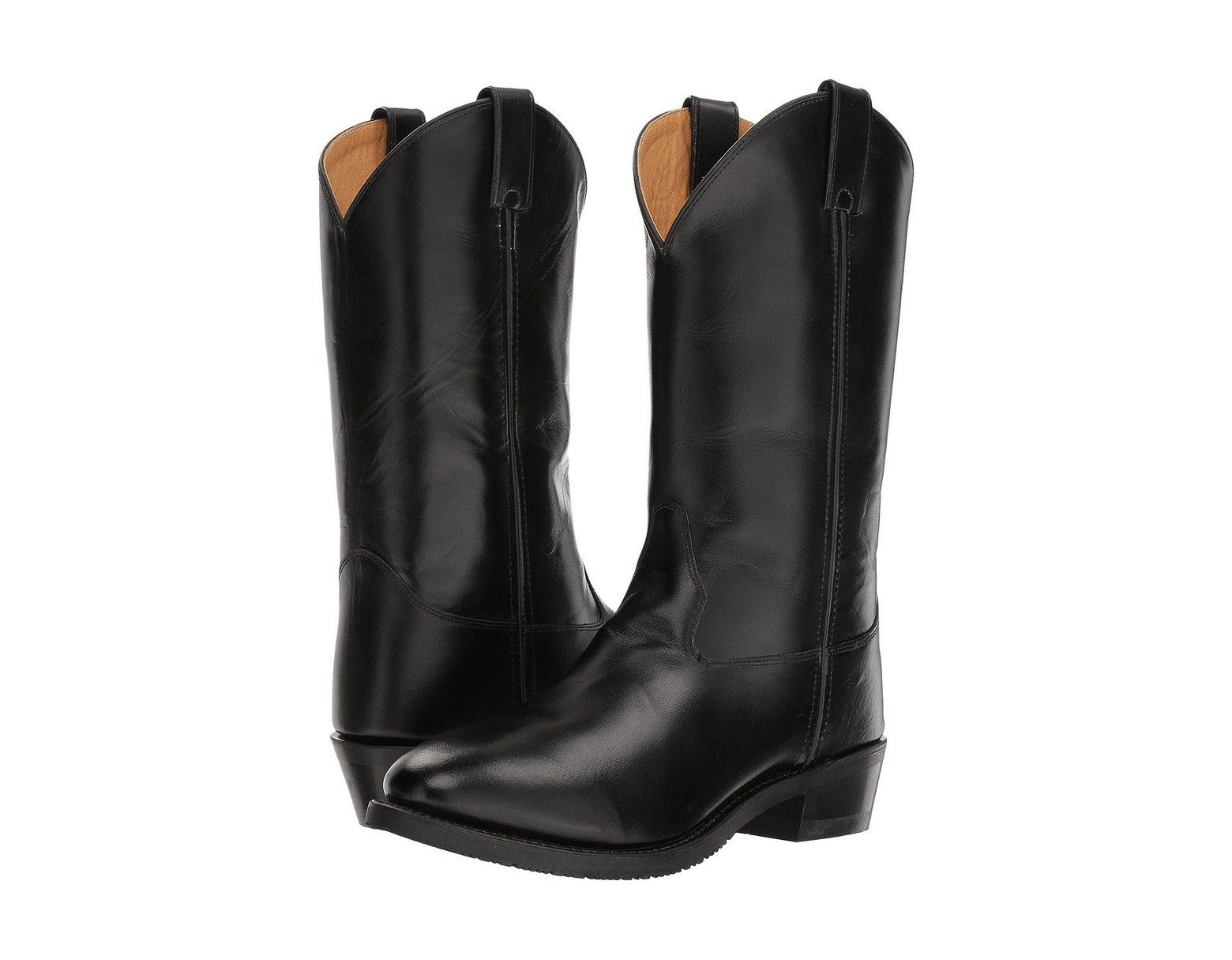 a5b3314f014 Men's Black Uniform Boot