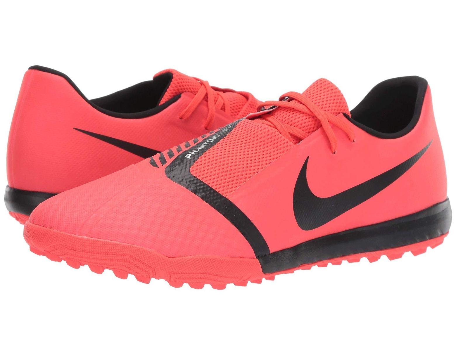 f9fe6c483 Nike Phantom Venom Academy Tf (black metallic Vivid Gold) Men s Soccer Shoes  in Pink for Men - Lyst