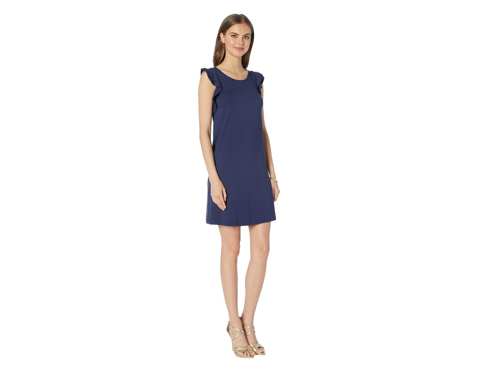 Lilly Pulitzer Dani Dress High Tide Navy Its For Shore