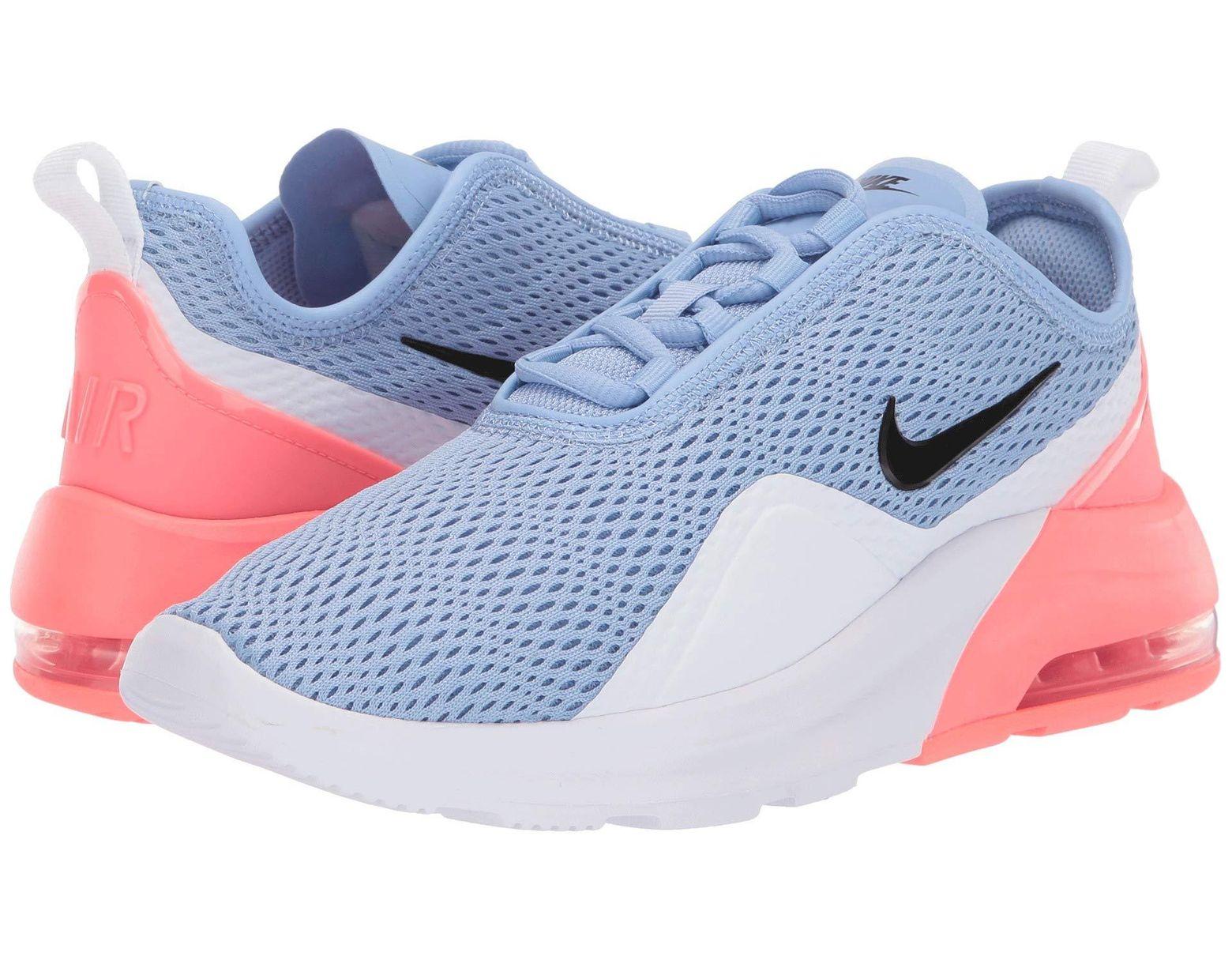 meet 9f3d8 a1ed7 Nike Air Max Motion 2 (white laser Fuchsia pale Pink) Women s Running Shoes  - Lyst