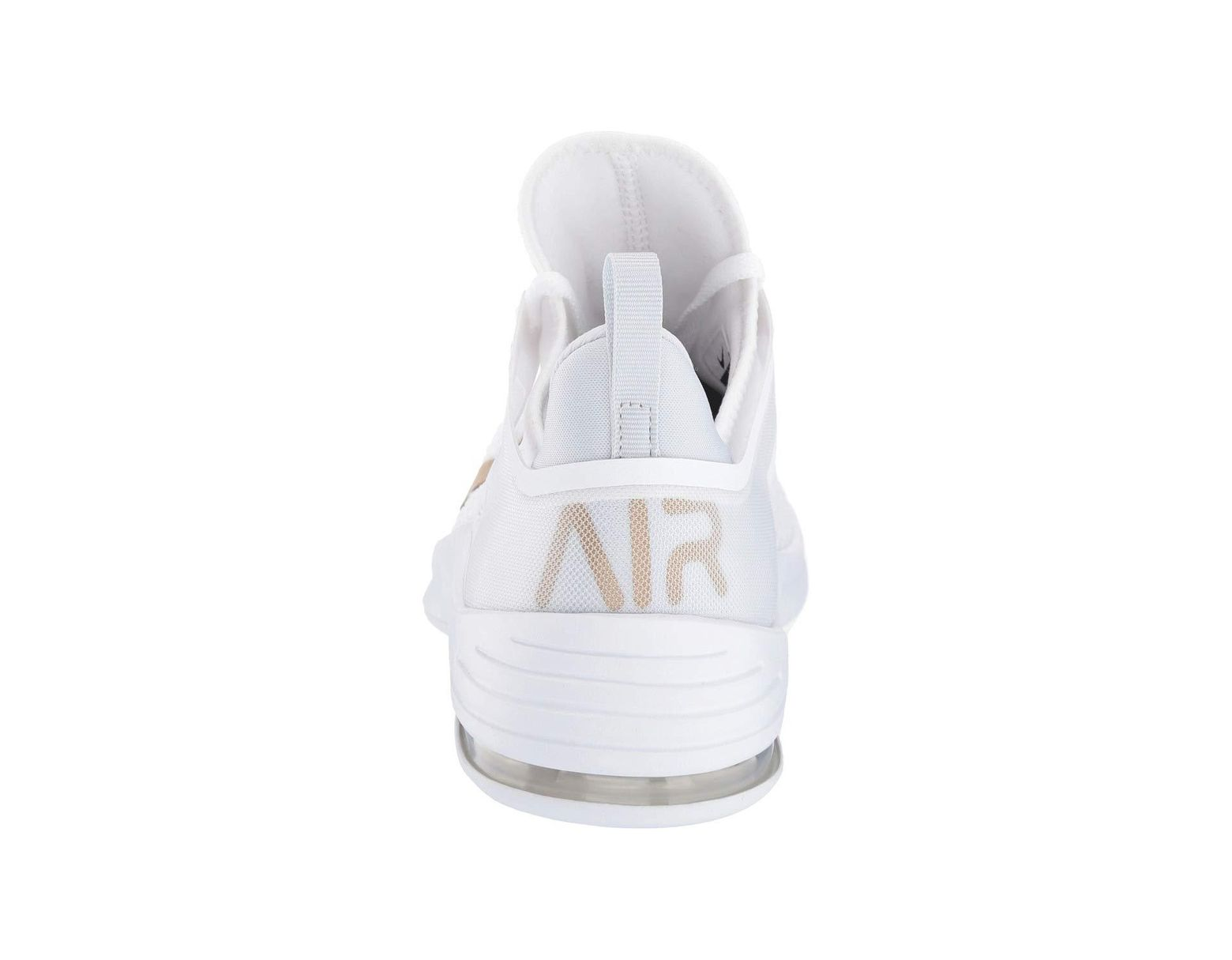 low priced 3ea91 99859 Nike Air Max Bella Tr 2 (white metallic Gold pure Platinum) Women s Cross  Training Shoes in White - Lyst