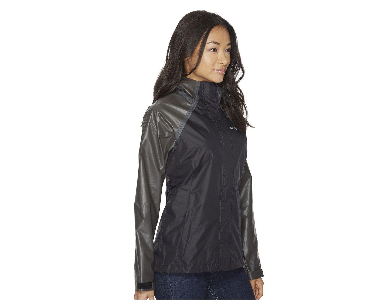 f648379921 Columbia Outdry Hybrid Jacket (black) Women s Coat in Black - Lyst