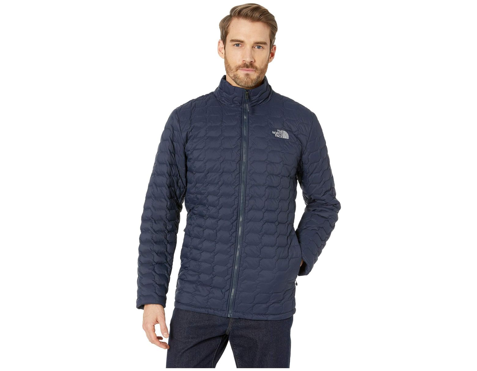 f2e1248fc Men's Blue Thermoball Jacket - Tall