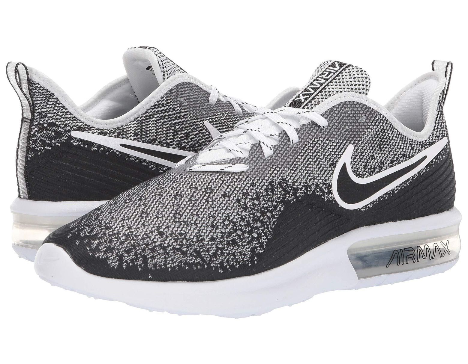 the best attitude c3c81 47562 Nike Air Max Sequent 4 (black black anthracite) Men s Running Shoes in Gray  for Men - Lyst