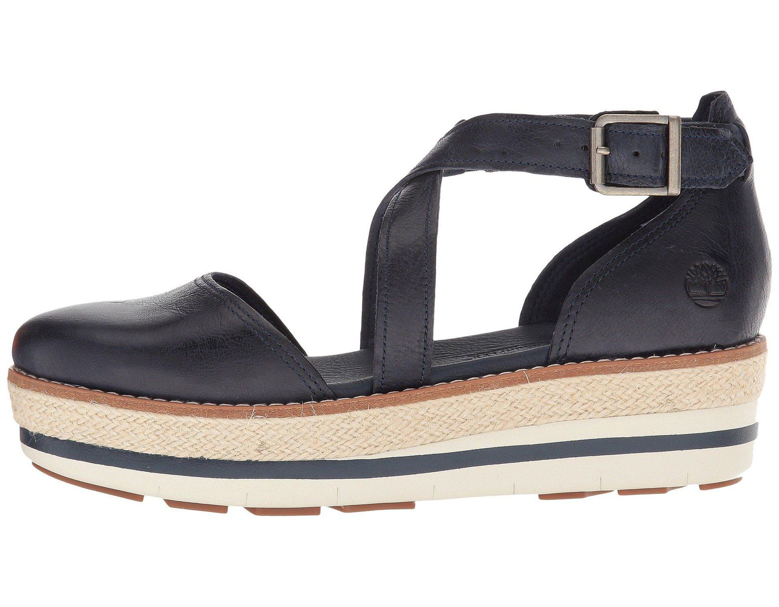 2cd679852417 Lyst - Timberland Emerson Point Closed Toe Sandal (light Brown Full Grain) Women s  Sandals in Blue