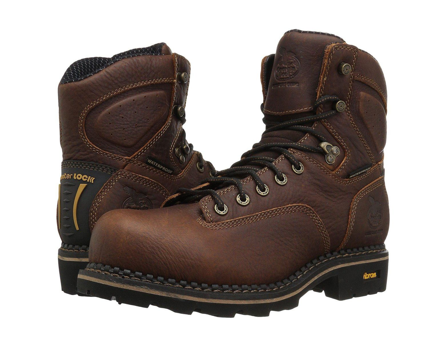 1269c2e7bd1 Men's Brown Logger 6 Low Heel Comp Toe Waterproof