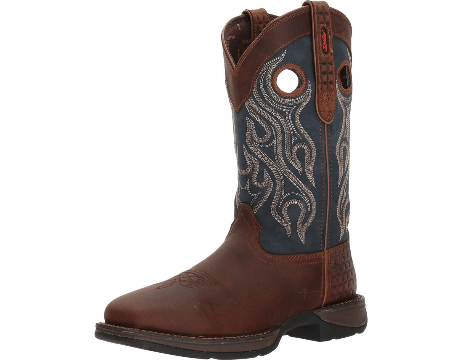 879e1818b5f Men's Brown Rebel 12 Western Wp Square Steel Toe