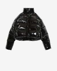 Balenciaga Bb Puffer Jacket - Black