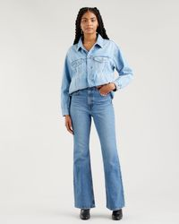 Levi's 70s High Flare Jeans - Blau